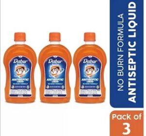 Dabur Sanitize Antiseptic Liquid (525 ml x 3) for Rs.244 @ Flipkart