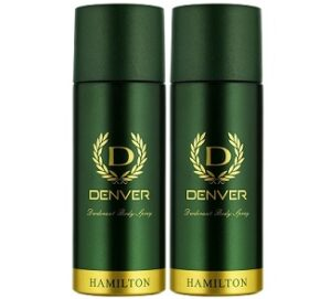 Denver Hamilton Deo Combo (165 ml x 2) for Rs.223 @ Amazon