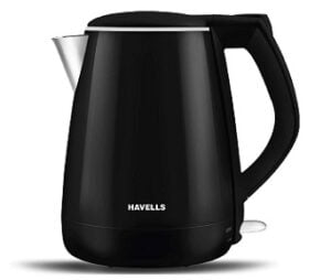 Havells Aqua Plus 1.2 litre Electric Kettle 304 Stainless Steel (1500 Watt) for Rs.1295 @ Amazon