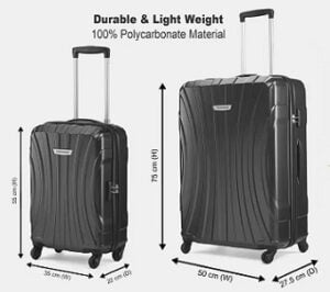 PROVOGUE Hard Body Set of 2 Luggage for Rs.3149 @ Flipkart (Pre-paid Order)