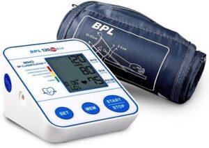 BPL Medical Technologies BPL 120/80 B18 Digital Blood Pressure Monitor (USB compatible) for Rs.1599 @ Amazon
