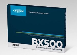 Crucial BX500 240GB 3D NAND SATA 2.5-inch SSD for Rs.3195 @ Amazon