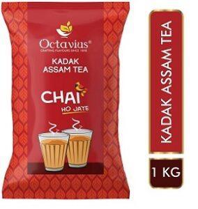 Octavius Strong Kadak Regular CTC Black Tea 1 Kg for Rs.231 @ Amazon