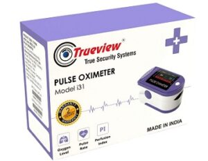 Trueview Finger Tip Pulse Oximeter measuring SpO2 with 2 Years Warranty for Rs.787 @ Amazon