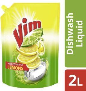 Vim Dishwash Liquid Gel Lemon Refill 2 Ltr worth Rs.370 for Rs.314 @ Amazon