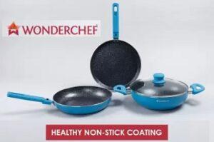 WONDERCHEF Power Induction Bottom Cookware Set (4 Pcs.)