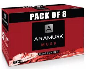 Aramusk Musk Soap (8 x 125 g) worth Rs.400 for Rs.280 @ Flipkart