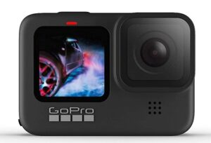GoPro HERO9 Black — Waterproof Action Camera with Touch Screen 5K Ultra HD Video 20MP Photos 1080p Live Streaming for Rs.37200 @ Amazon