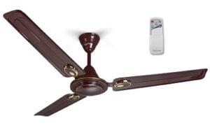 Lifelong Glide 1200 mm Semi-Decor High Speed Ceiling Fan with Remote (2 Year Warranty)