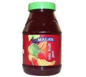 Mala's Mixed Fruit Jam – 1kg  for Rs.181 @ Amazon