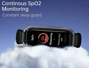 OPPO Smart Band with Extra Sport Strap – Blood Oxygen Saturation Monitoring (spO2) 1.1″ AMOLED Display for Rs.1699 @ Amazon