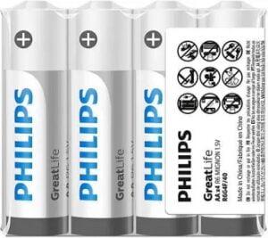 PHILIPS Zinc Chloride AA Performance Batteries (Pack of 100) for Rs.559 @ Flipkart