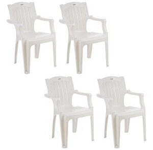 Solimo Desna Plastic Chair Set of 4 for Rs.1963 @ Amazon