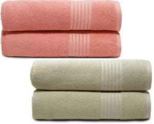 TRIDENT Cotton 380 GSM Bath Towel Set  (Pack of 2) for Rs.349 @ Flipkart