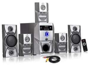 Tronica Grey Super King Series 5.1 Bluetooth Multimedia Speakers for Rs.2231 @ Amazon