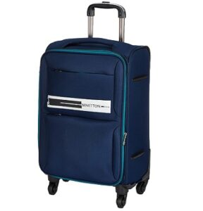 United Colors of Benetton Polyester 50 cms Navy Softsided Cabin Luggage for Rs.1699 @ Amazon