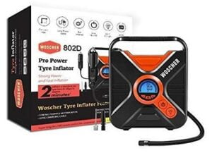 Woscher Pro Power 802D Digital Car Tyre Inflator with Digital Display for Rs.1979 @ Amazon