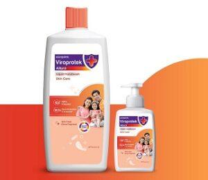 Asian Paints Viroprotek Allura Liquid Handwash Skin Care Combo Pack of 2 (200 ml + 1 L) for Rs.162 @ Amazon