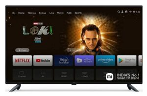 Mi (50 Inches) 4K Ultra HD Android Smart LED TV 4X for Rs.31998 @ Amazon