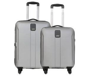 Safari Thorium Sharp Anti-Scratch Set of 2 Check-in Suitcase