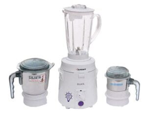 Sujata SuperMix SM Mixer Grinder 900 Watt, 3 Jars for Rs.5149 @ Amazon
