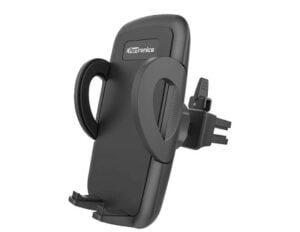 Portronics CLAMP X POR-1101 Car-Vent Mobile Holder with Adjustable Side Arm for Rs.399 @ Amazon