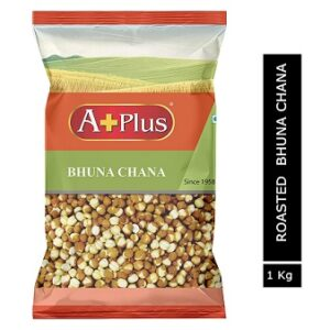 APLUS Roasted / BHUNA Chana Pouch 1 kg for Rs.175 @ Amazon