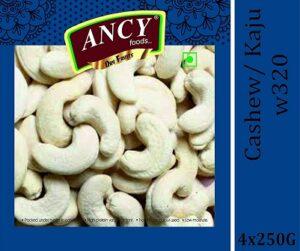 Ancy Foods Premium Dry Fruits (Cashew/Kaju w320) 1 kg for Rs.772 @ Amazon