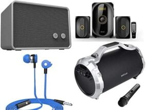 Astrum Headphones & Speakers – 25% to 45% Extra Discount Coupon from Rs.1034 @ Amazon