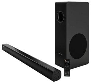 Blaupunkt Germany's SBW200 160 Watt 2.1 Channel Wireless Bluetooth Soundbar for Rs.8249 @ Amazon