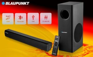 Blaupunkt Germany's SBW25 100 Watt Wired Soundbar for Rs.5499 @ Amazon