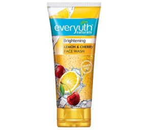 Everyuth Naturals Brightening Lemon & Cherry Face Wash, 150gm for Rs.100 @ Amazon (Limited Period Deal)