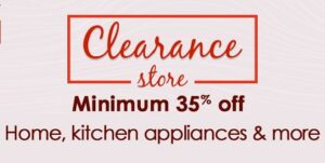 Home & Kitchen Appliances Clearance Store – Min 35% off @ Amazon