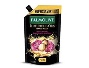 Palmolive Luminous Oils Invigorating Liquid Hand Wash, 750ml Refill Pack