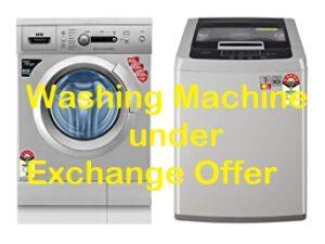 Amazon Exchange Offer on Washing Machine