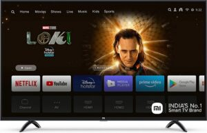 Mi 108 cm (43 Inches) 4K Ultra HD Android Smart LED TV for Rs.25999 @ Amazon