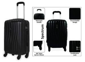 Pronto Spectrum ABS 56 cms Hardsided Cabin Luggage for Rs.1898 @ Amazon (5 Yrs International Warranty)