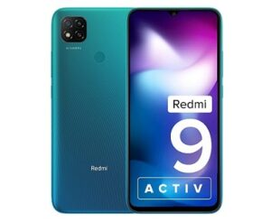 Redmi 9 Activ Mobile (6GB RAM, 128GB Storage) for Rs.10999 @ Amazon