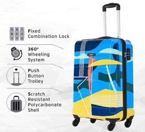 Safari 23 cms Polycarbonate Luggage Suitcase (REGLOSS Detour 55 4W Printed) for Rs.2299 @ Amazon